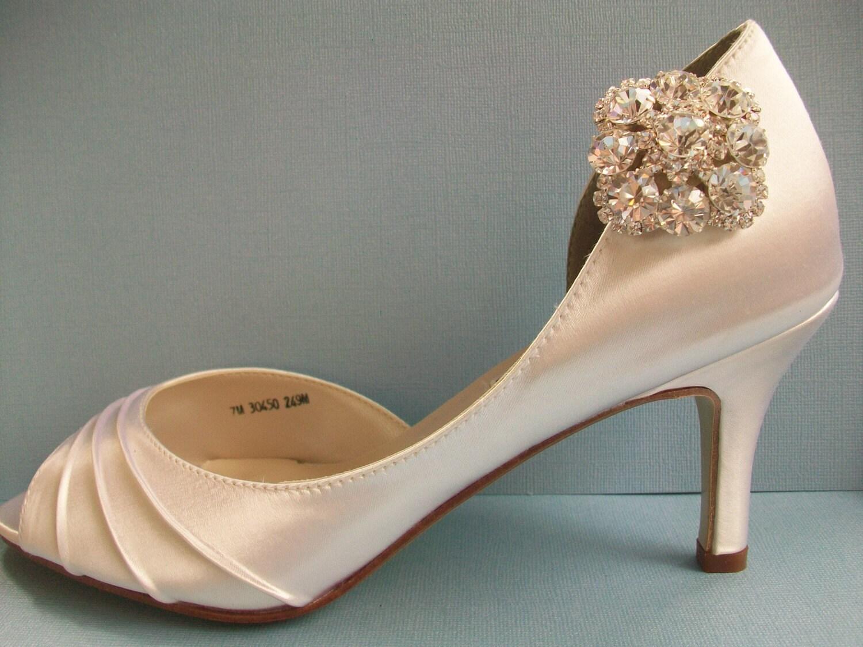 Sparkling Statement Swarovski Crystal Shoe Clips