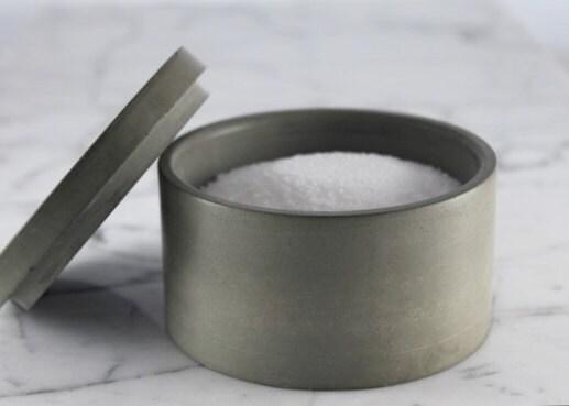 Classic Salt Cellar. Sugar Bowl.  Spice Container. Classic Design. - Culinarium