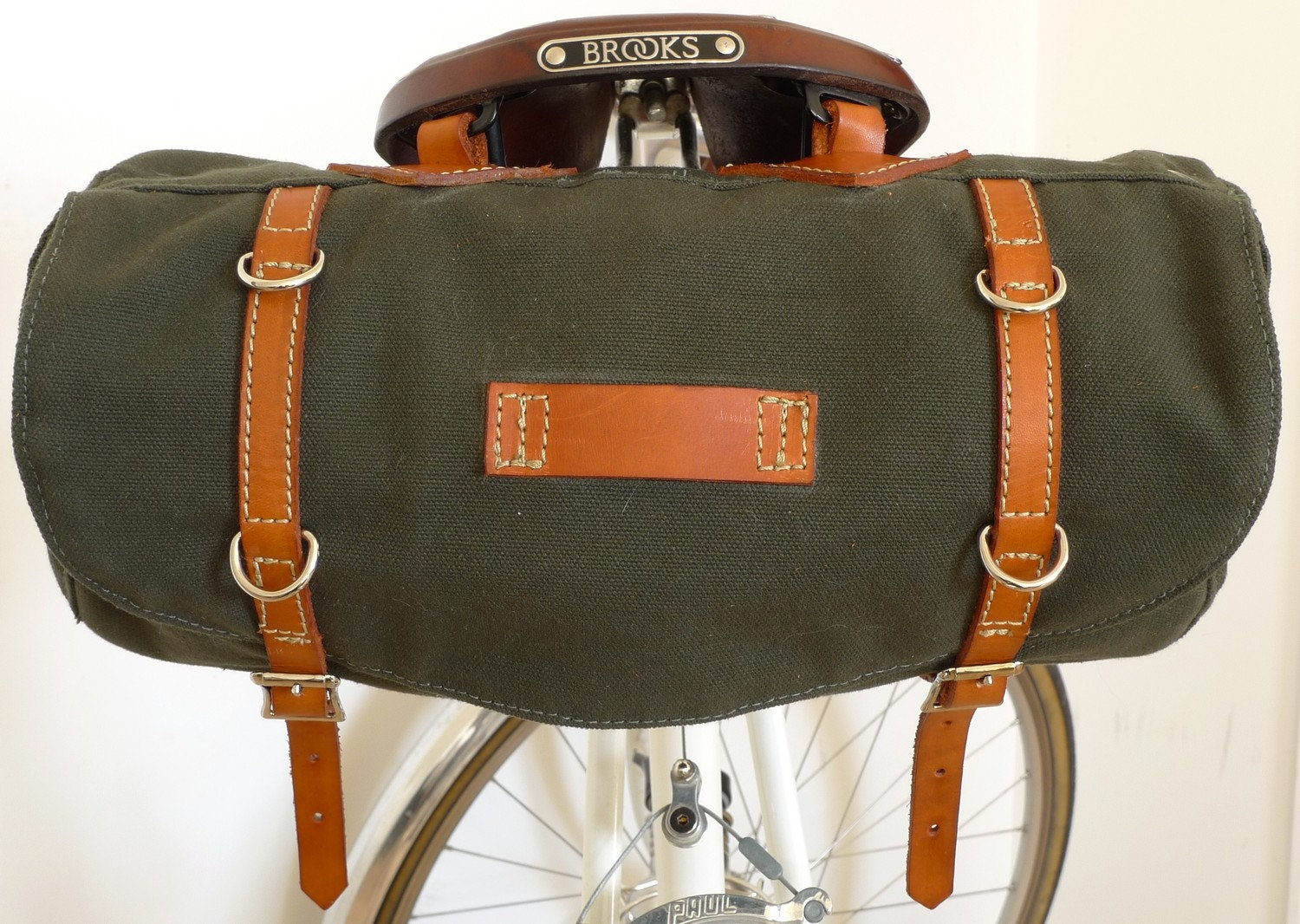 Hunter Green Bicycle Bag