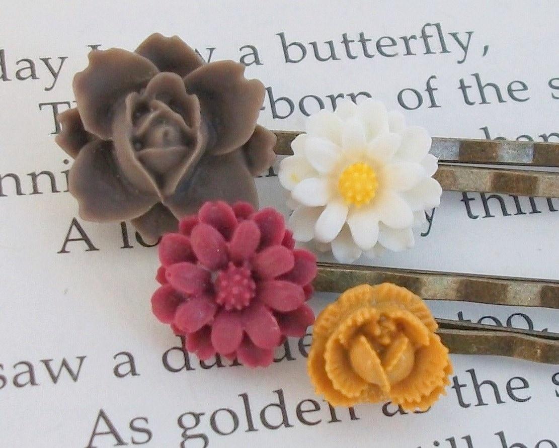 Daylily Hair Pins