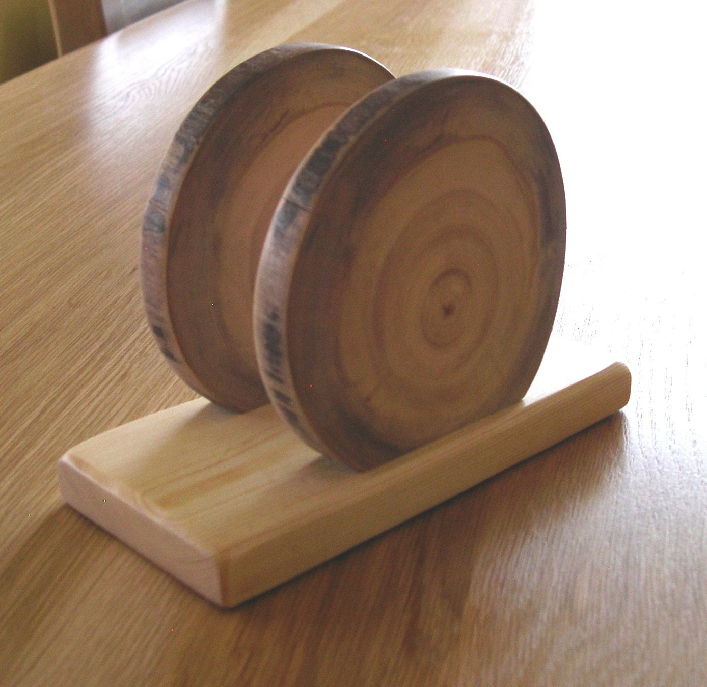 Aspen log napkin holder organizer no2 rustic by for Aspen logs for decoration