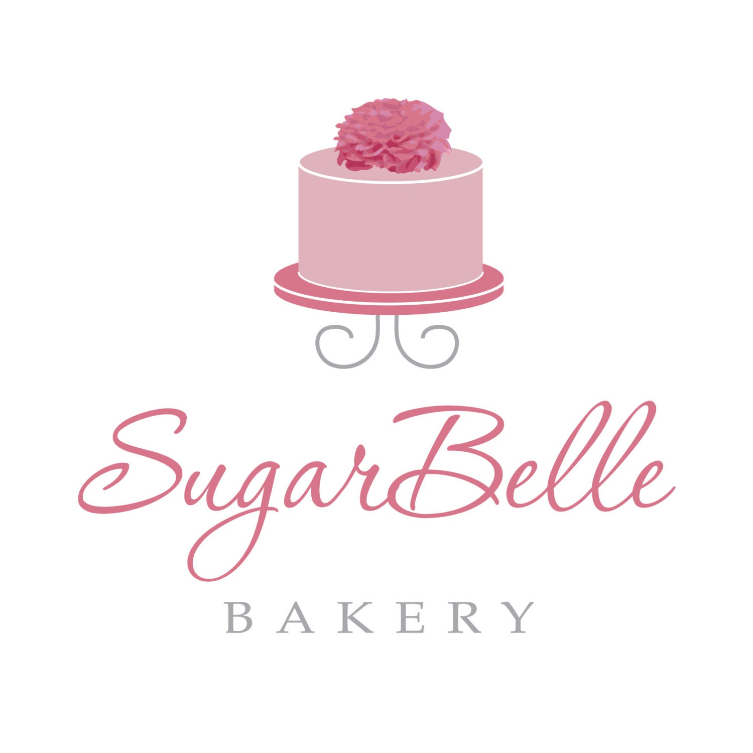 Cake Logo For Custom Business Logo And by MyPrettySweetDesigns
