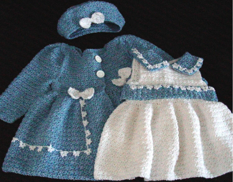 Bon Bon Dress & Jacket Set Crochet Pattern PDF by ...