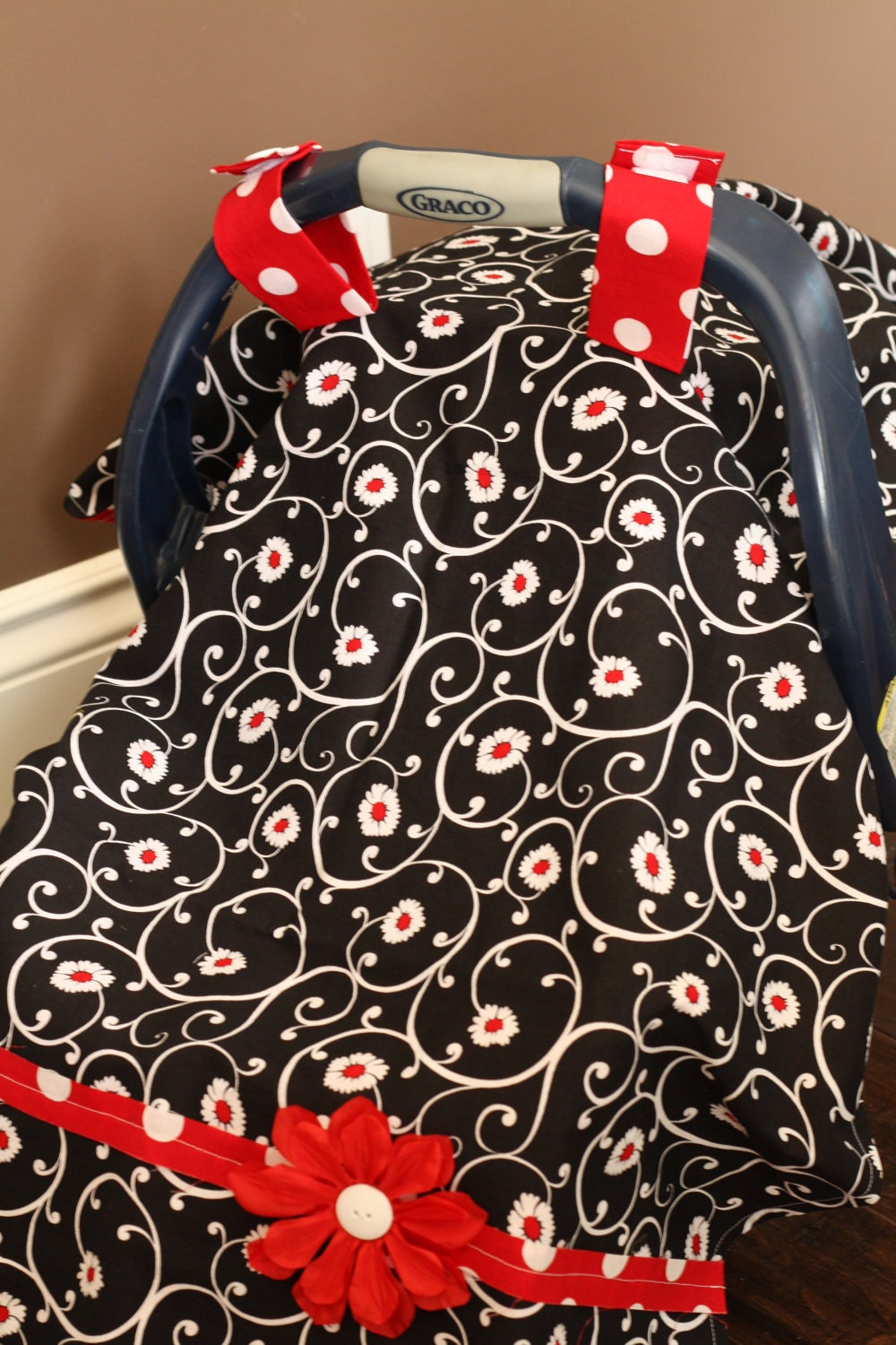 Infant Car Seat Cover/Tent/Blanket