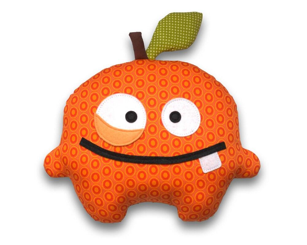 orange fruit sewing pattern