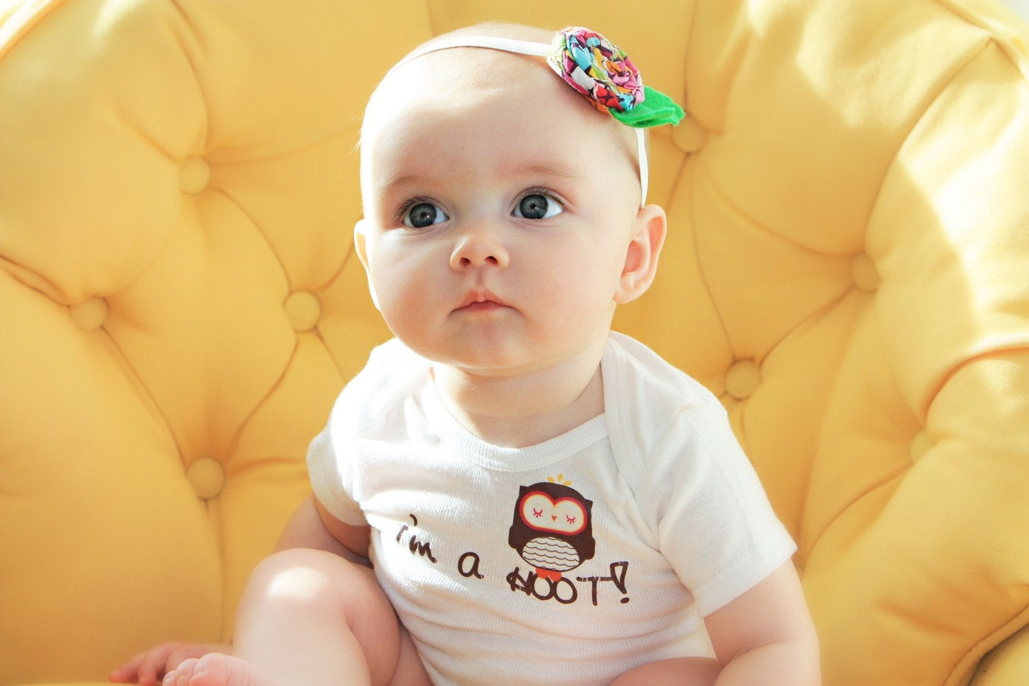 I'm a Hoot -  Girls Onesie