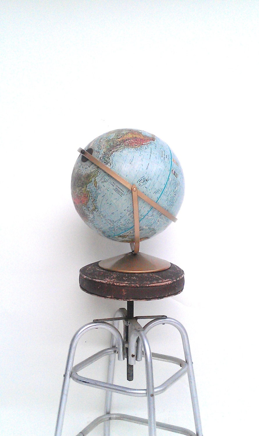 Replogle Land and Sea Globe Educational and Great Decor Item - TimandKimShow