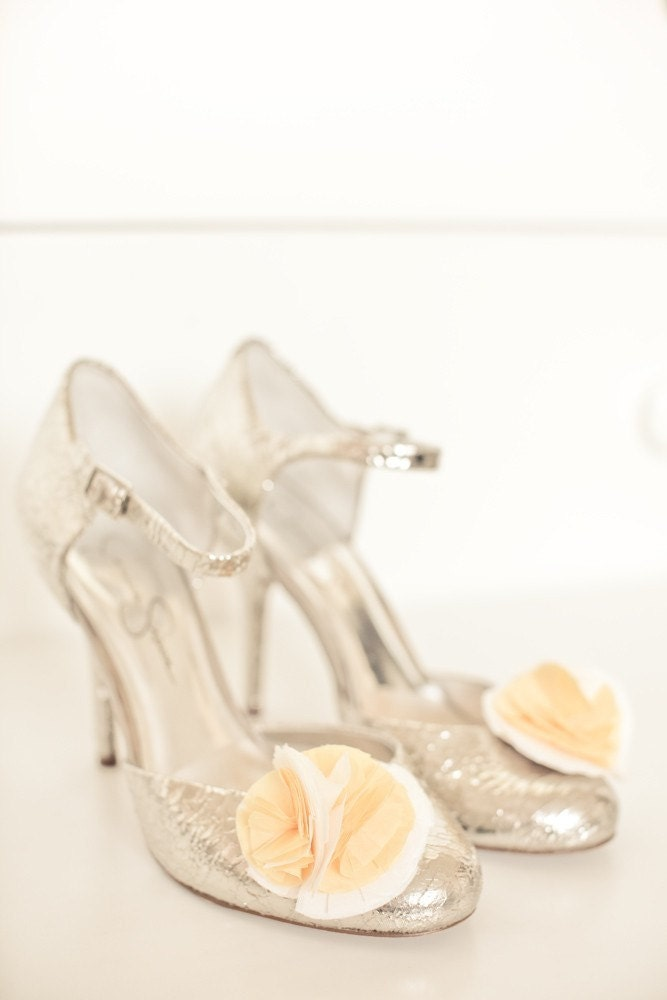 Snowball and Buttercup Shoe Clips