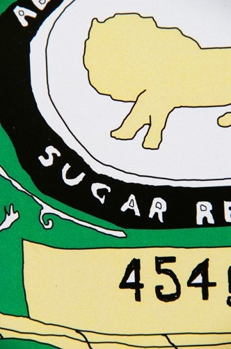 A3 Print -  Golden Syrup