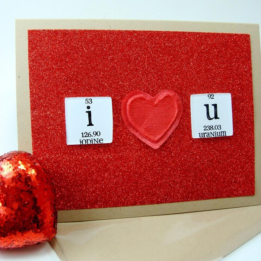 Iodine Love Uranium Card