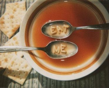 Eat Me - Retro Fine Art Print