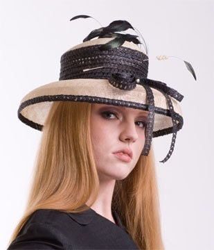 Derby Hat - Feathered Braid