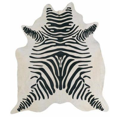 Zebra Cowhide