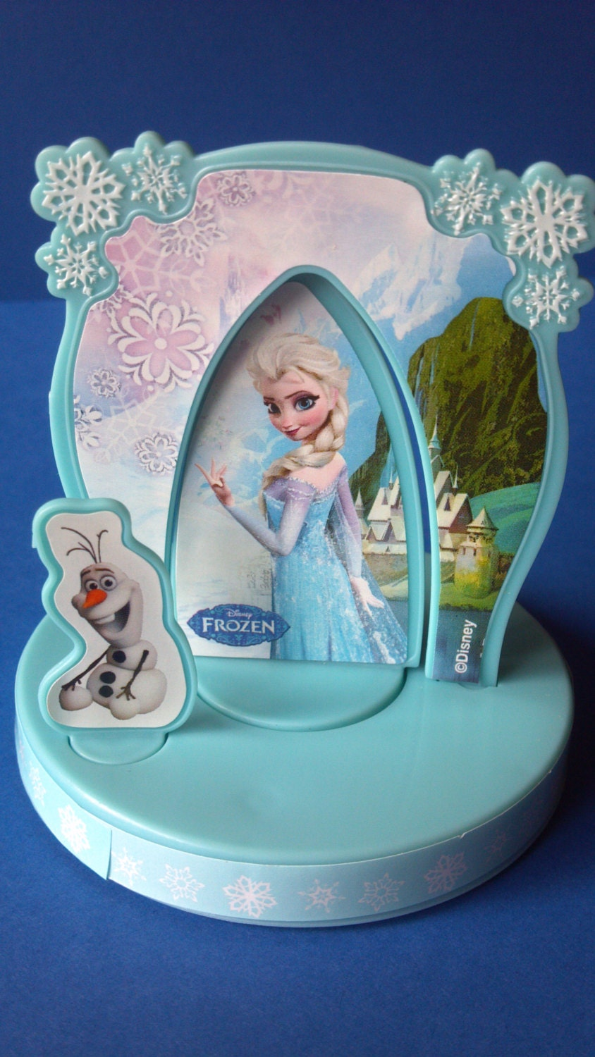 Etsy Frozen Cake Decorations : Frozen cake decorating topper perfect for by ...