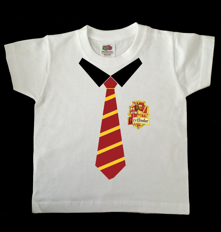 Harry Potter Gryffinor School Tie childs/toddler tshirt