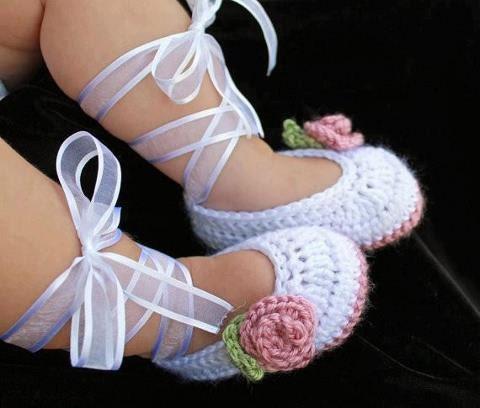, Handmade, crochet. Sandalias para bebe hechas a mano, a crochet