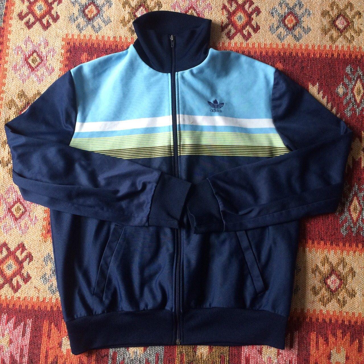 Vintage Adidas track suit jacket