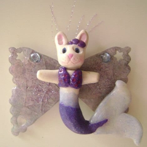 Bijou Bunny Magnet by Bunny
