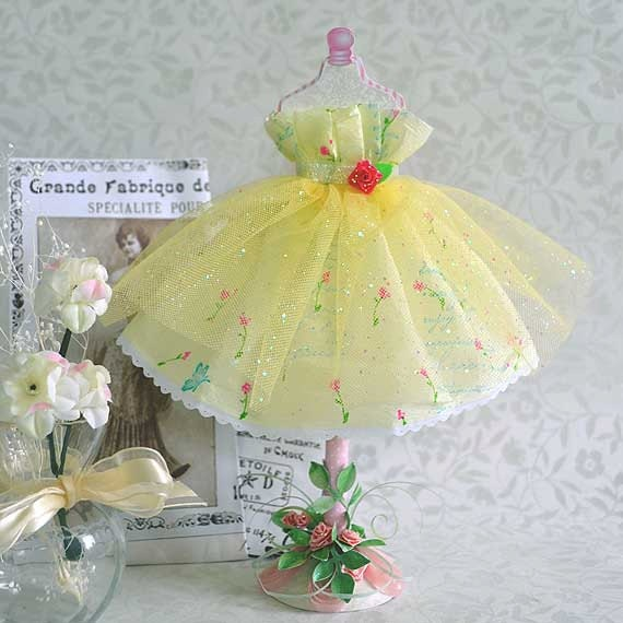 Paper Art Doll Fairy Tale Dress Form