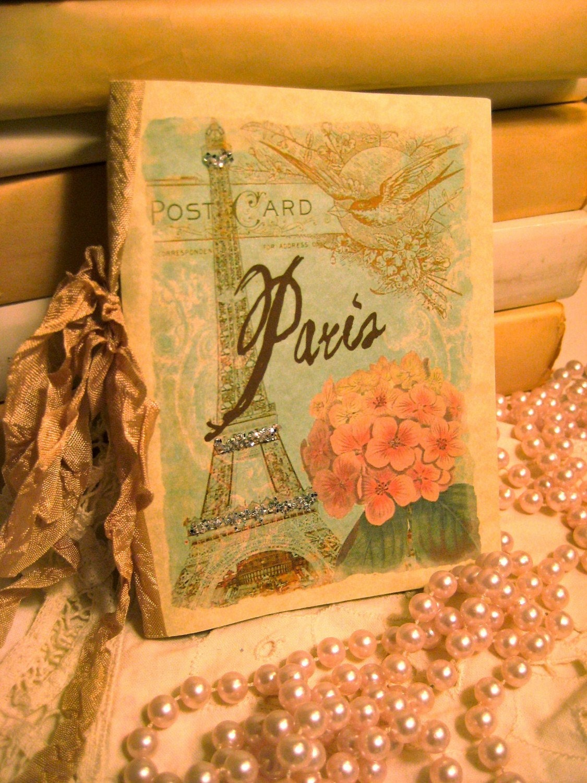 Journal -  SPRINGTIME IN PARIS - French Market (JRL 016)
