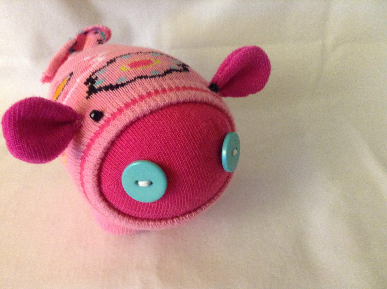 This Little Piggy - Plush Sock Pig - Eloise - SuperJule