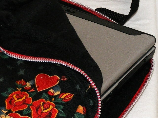 (Laptop Tattoo Computer Bag with Pockets Back to by kavelizrd)