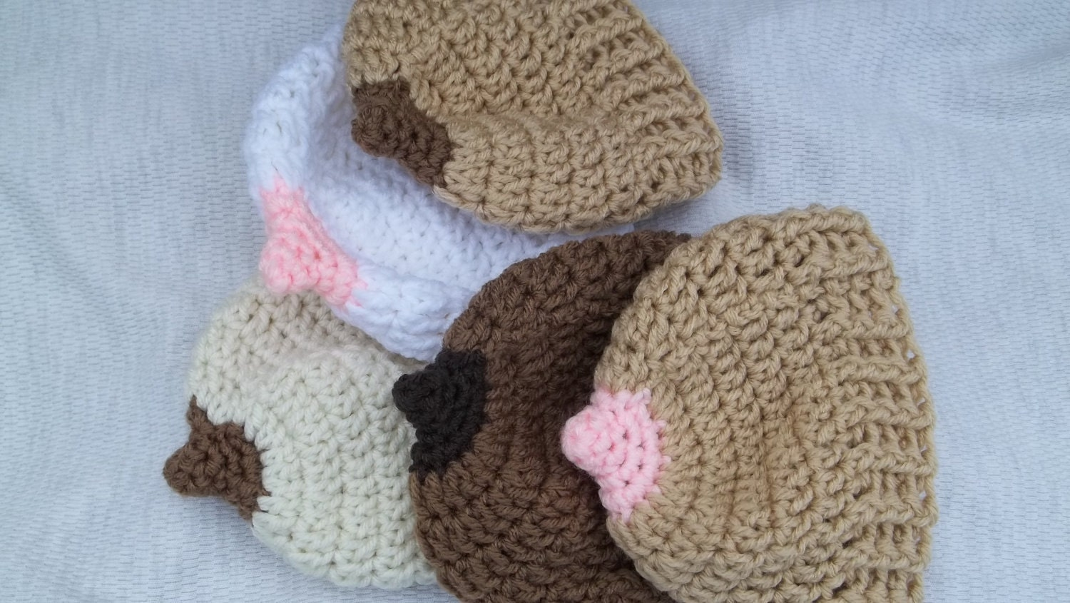 Breast Cancer Awareness Month... Boobie hat for breastfeeding moms and breast cancer awareness - sunshineknitandsew