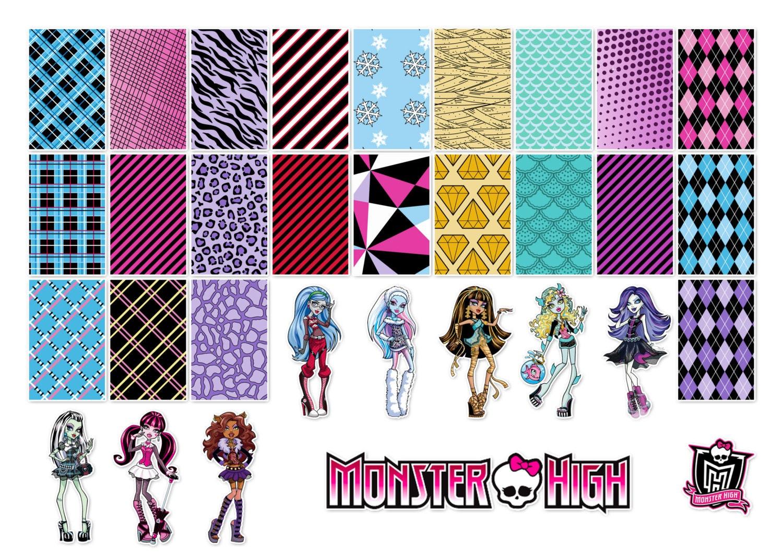 Monster High Paper Crafts - Bing images