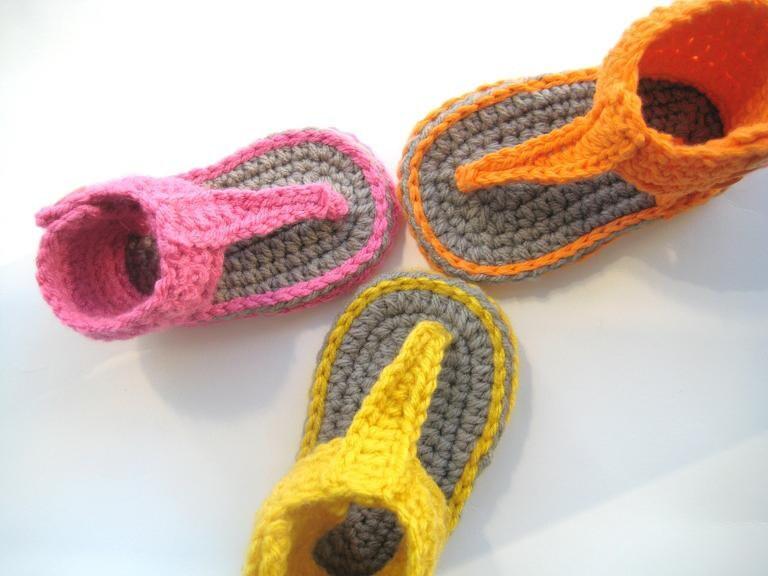 Sandalias de crochet para bebés | mamasmolonas