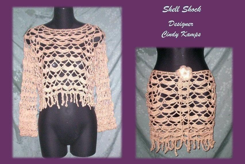 Free Crochet Pattern 30243 Crocheted Vest : Lion Brand Yarn Company