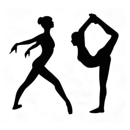 Scorpion Gymnastics Black And White
