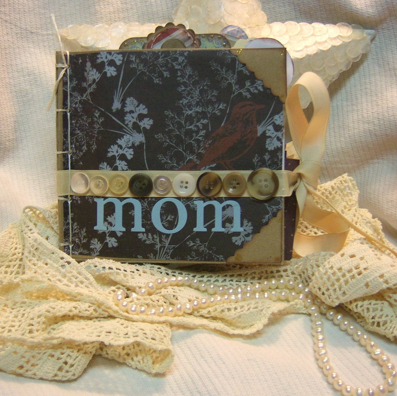 Mom Album Premade Paper Bag Mother