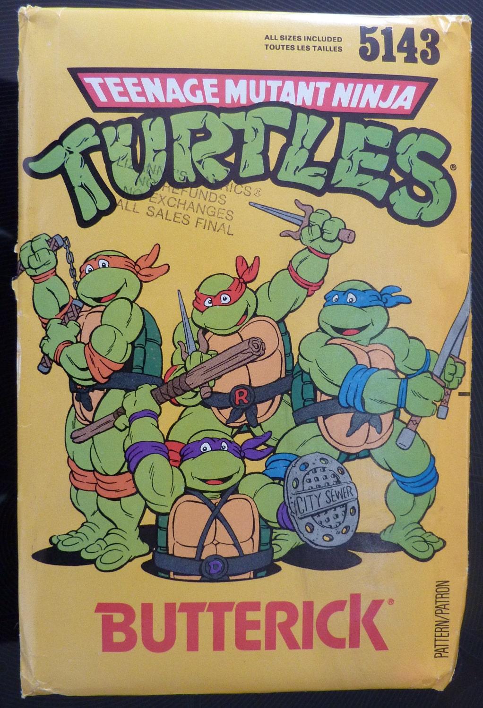 Teenage Mutant Ninja Turtles Pattern