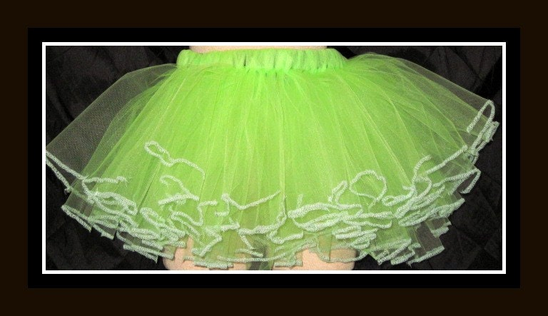Glow In The Dark Tutu Skirt    OOAK Custom order Welcome
