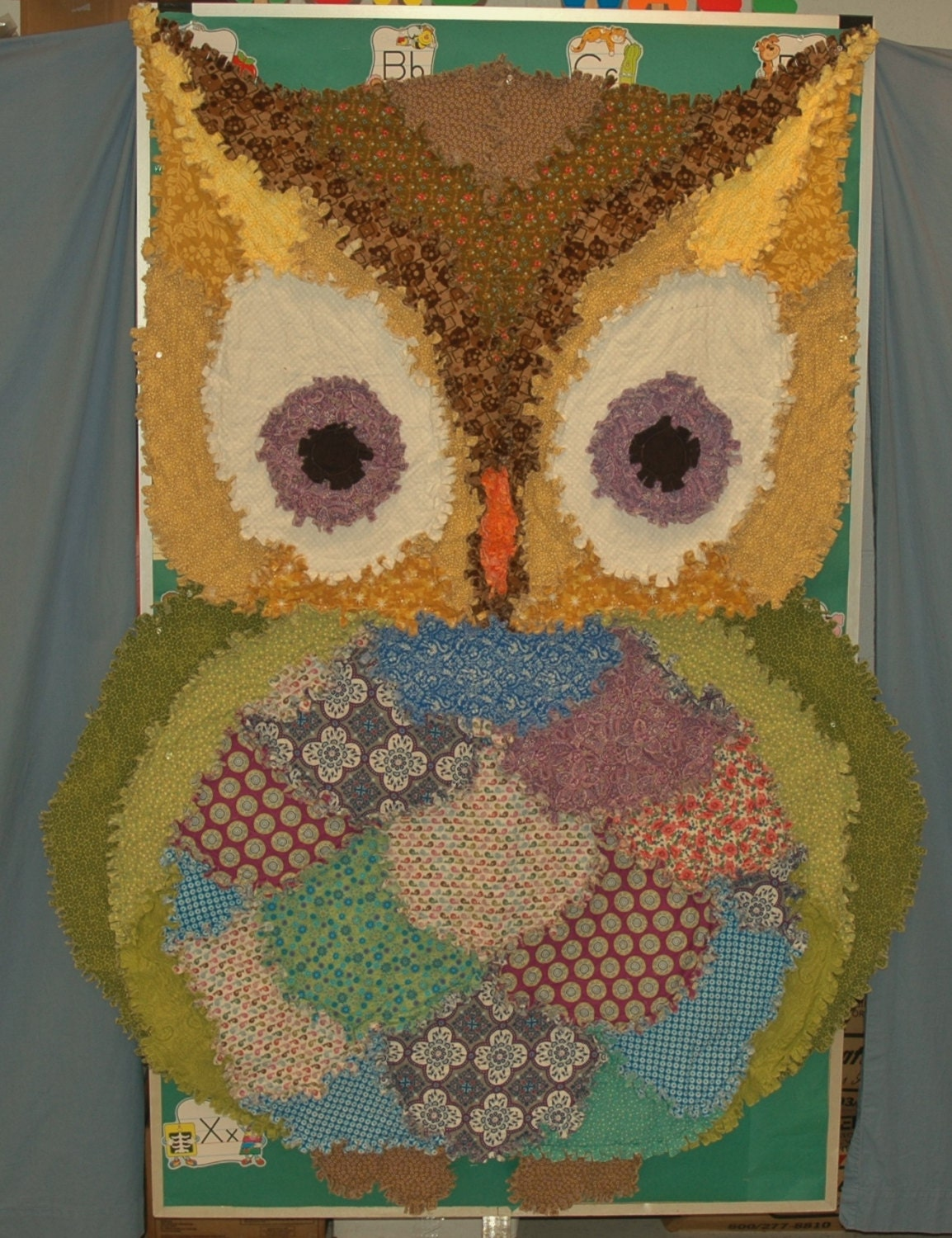 Rag Quilt Owl Pattern : 301 Moved Permanently