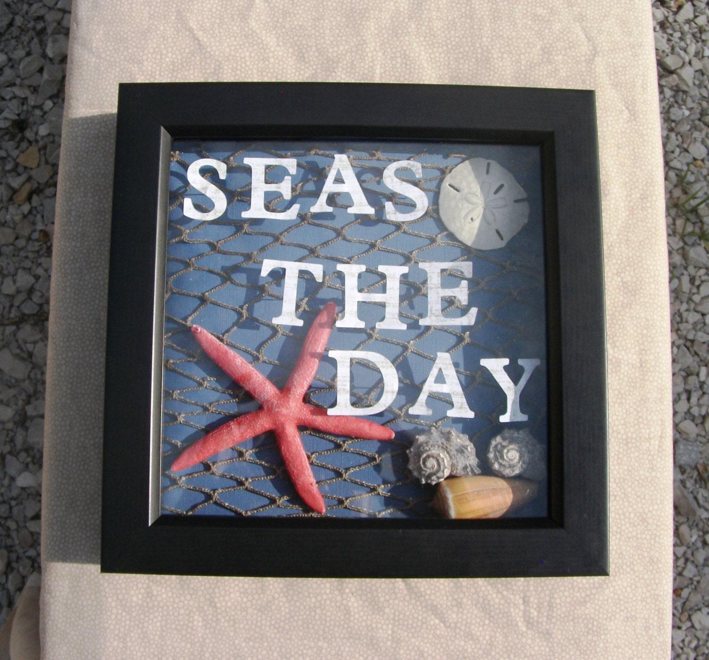 Beach Theme Home Decor Shadow Box Beach Gift: Il_570xN.477937830_3mn6.jpg