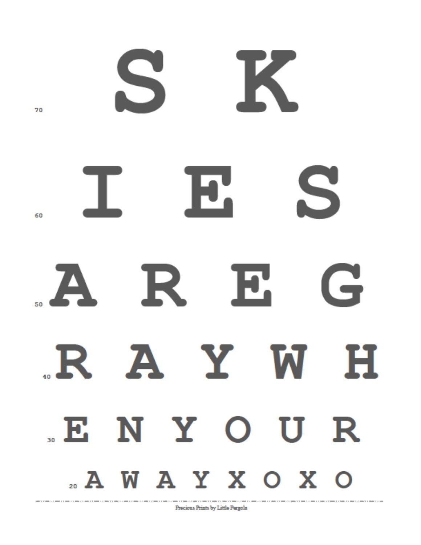 Printable Eye Chart Pdf Rebellions