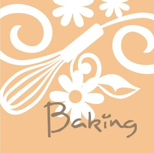 CLIP ART baker, baking, kitchen