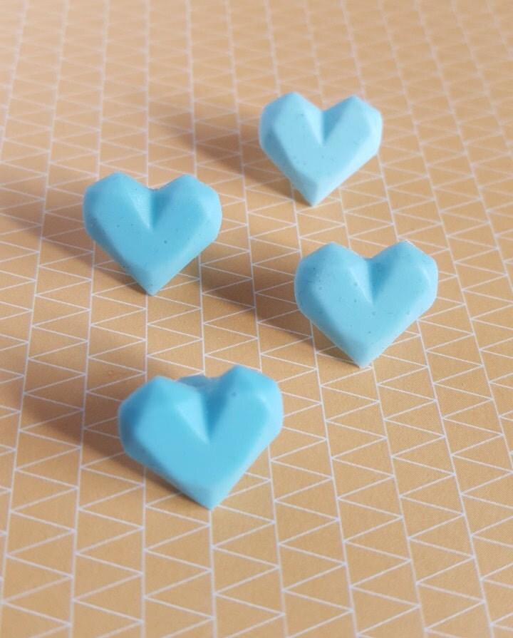 Tamagotchi Ps Replica silicone Heart Blue