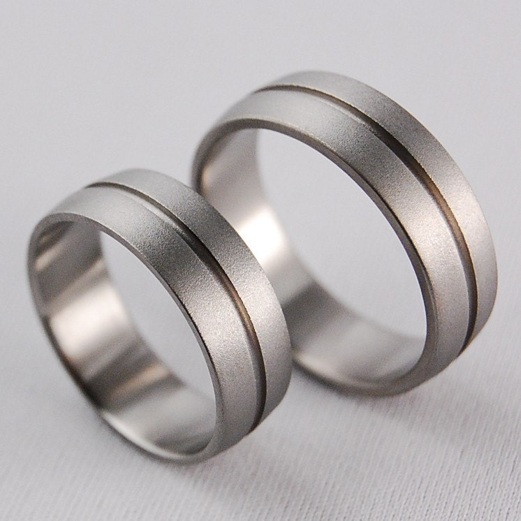 Titanium Wedding Rings , Orion Bands