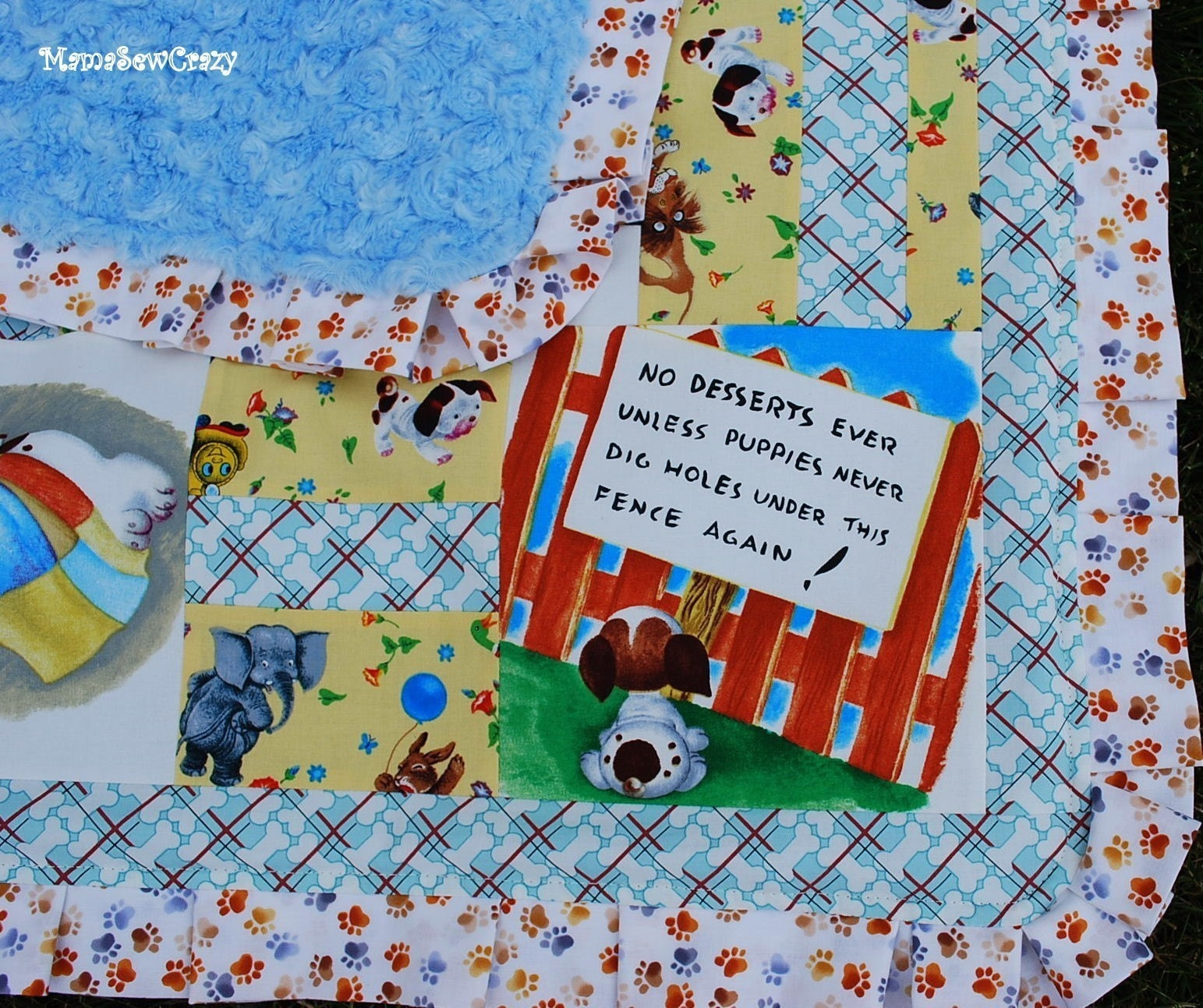 golden books quilt