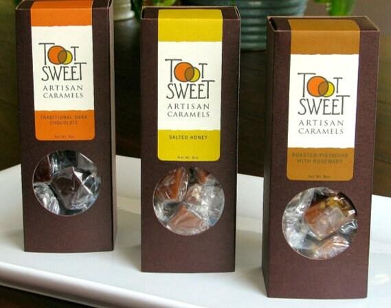 Three Flavor Artisan Caramel Combination Pack.