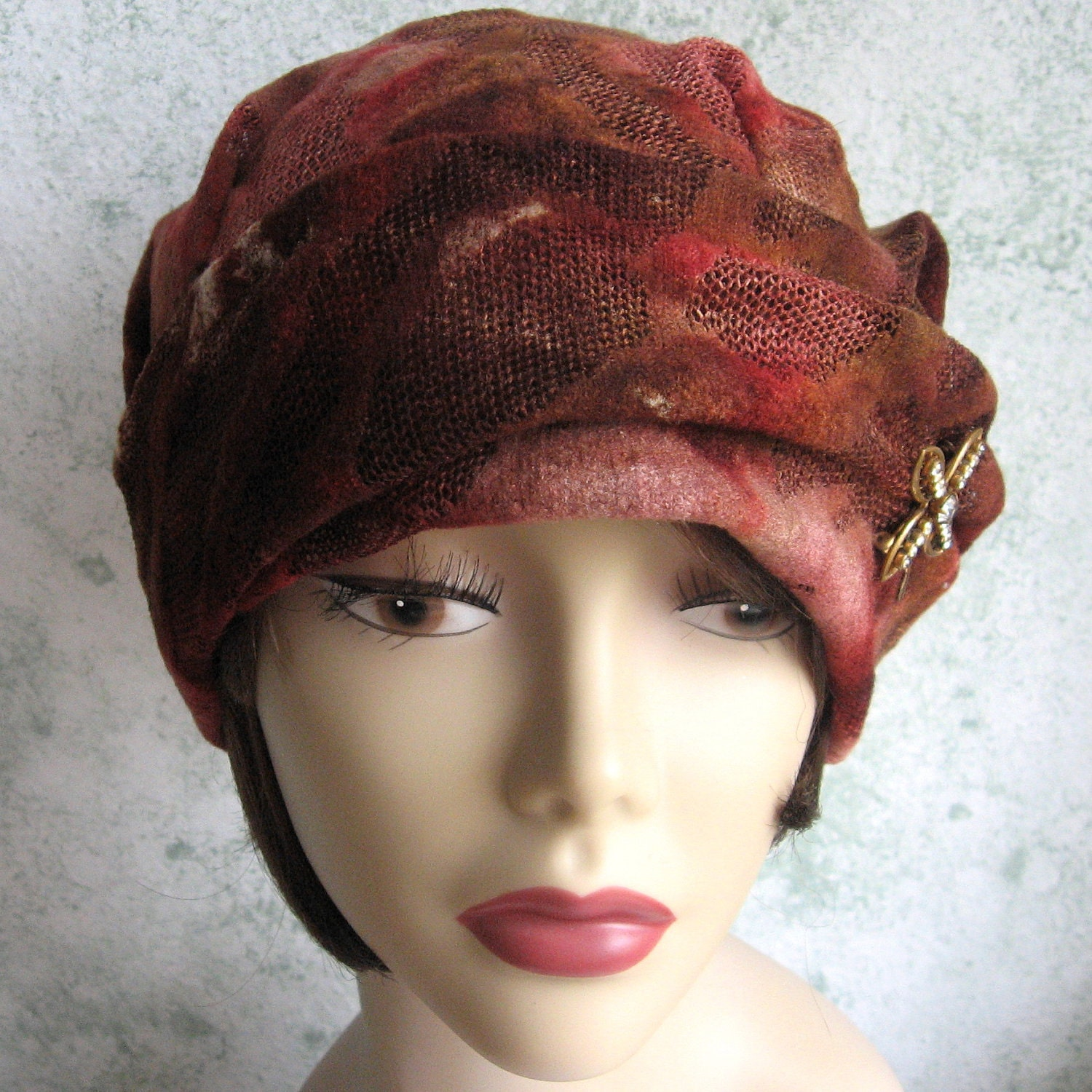 1930s womens vintage hat pattern pdf easy to make by