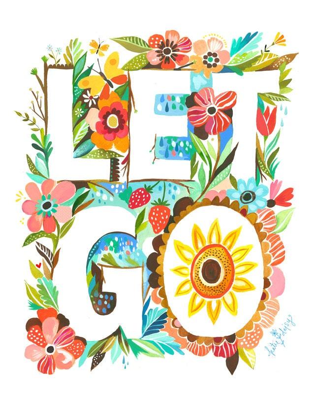 Let Go   -   vertical print
