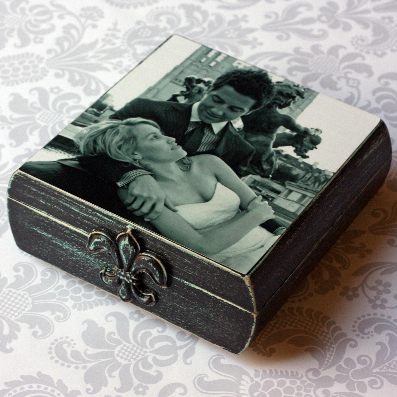 Custom Wooden Photo Box- large