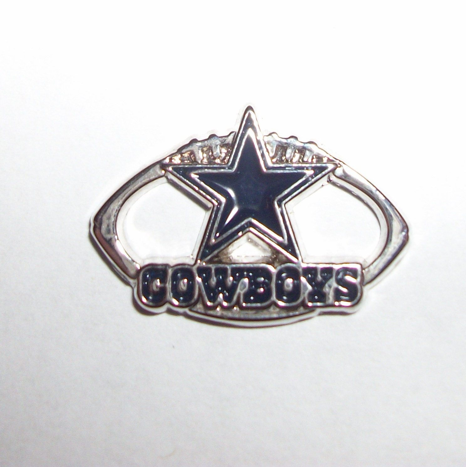 dallas cowboys licensed charm great for by paracordbydesign