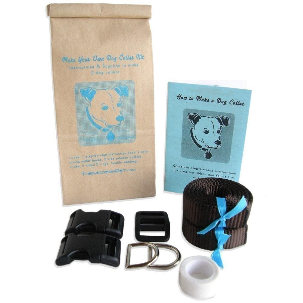 Make Your Own Dog Collar Kit (Makes 2 Collars)
