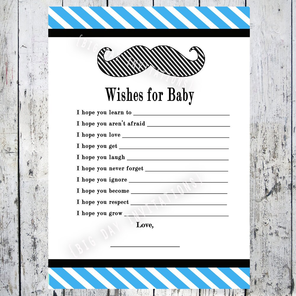 Mustache Invite for great invitation design