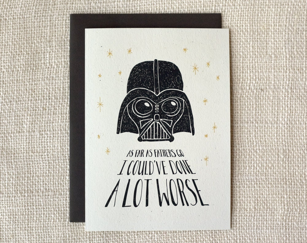 Father's Day Card - Not the Worst