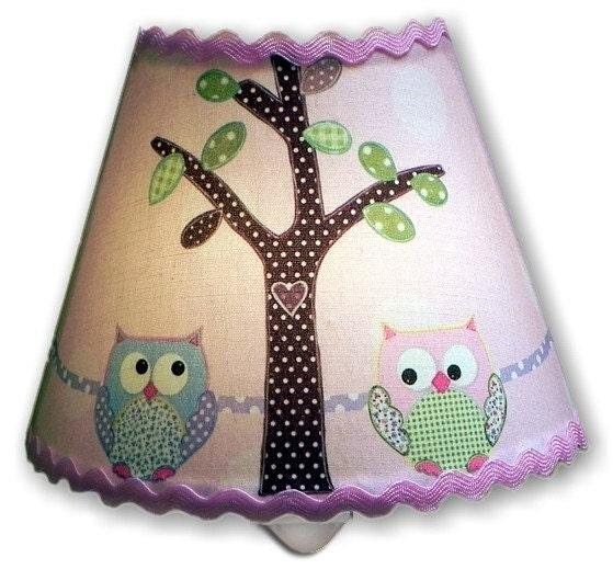 Hayley Owl Night Light